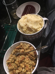And there were SO many mashed potatoes (but not too many, that's not possible)